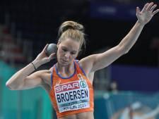 Nadine Broersen houdt na drie onderdelen zicht op medaille