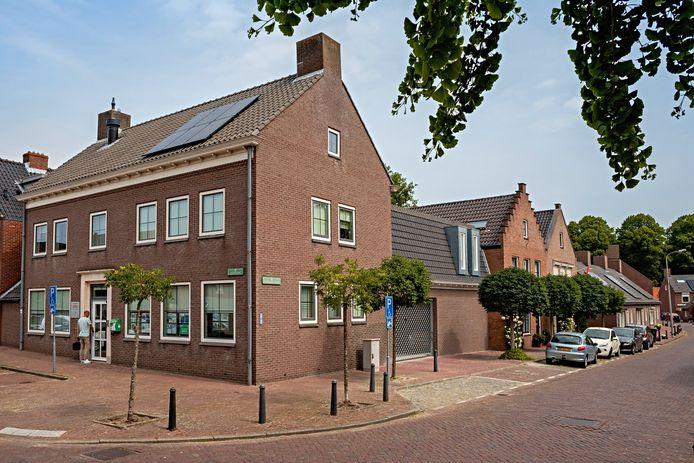 Kantoor van woonstichting Hulst aan het Godsplein in Hulst.