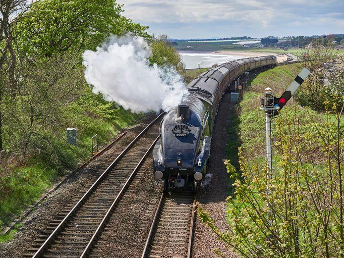 Een trein bij Aberdeen, Schotland. Foto ter illustratie.