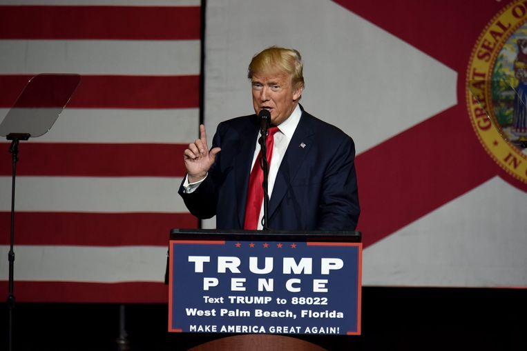 Donald Trump.  Beeld Photo News