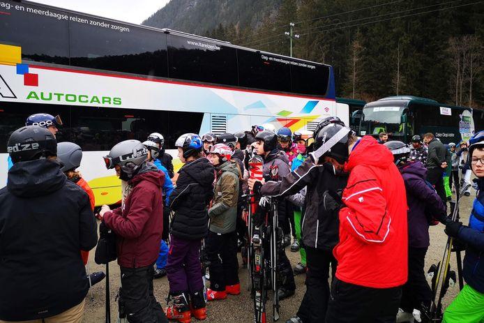 De leerlingen van de Sint-Jozefschool van Mere zijn momenteel op ski-reis in het Italiaanse Speikboden net over de Oostenrijkse grens.