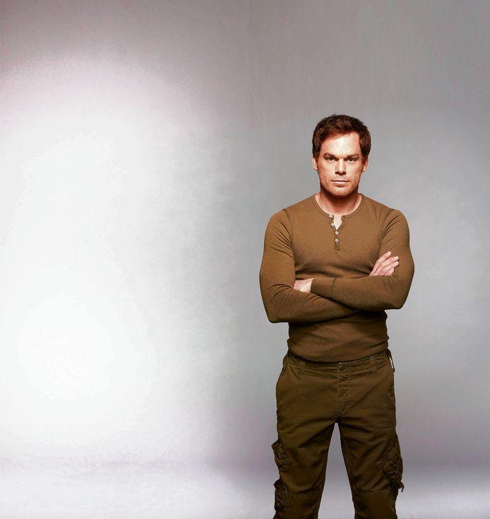 MIchael C. Hall als Dexter in de gelijknamige serie.