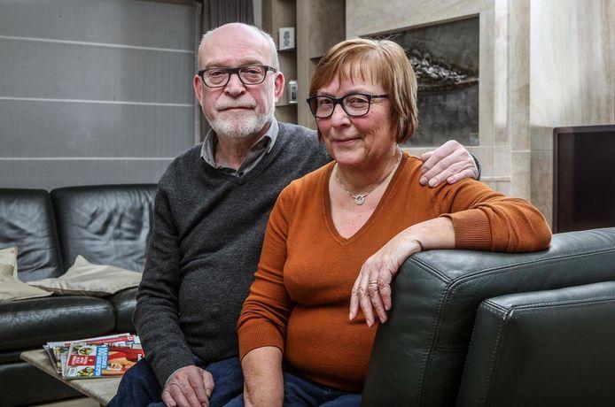 Herman Suffis en Annemie Tanghe, de ouders van Lien.