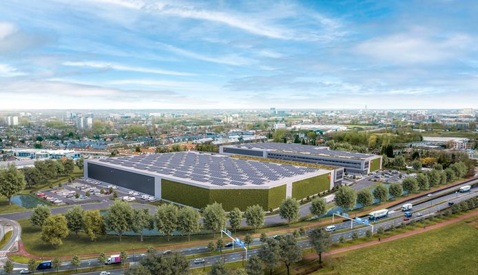 Op het stuk braakliggende grond aan de Lageweg bij de Nieuwe Kadijk en de Oosterhoutseweg wil Frasers Property Industrial twee distributiecentra neerzetten.