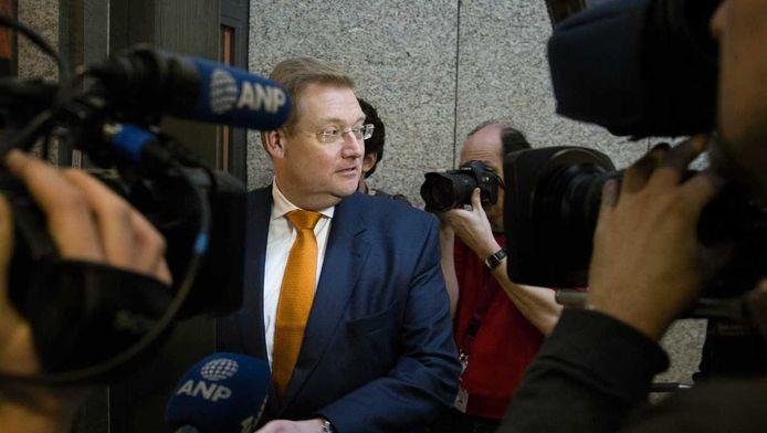 Minister Ard van der Steur van Veiligheid en Justitie