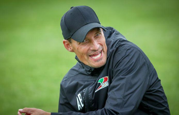 KVO-coach Alexander Blessin