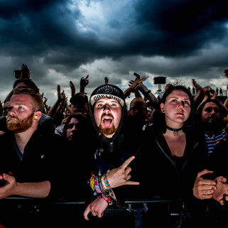 fotoreeks over Graspop, dag 2: de zwarte mis van de metal gaat verder