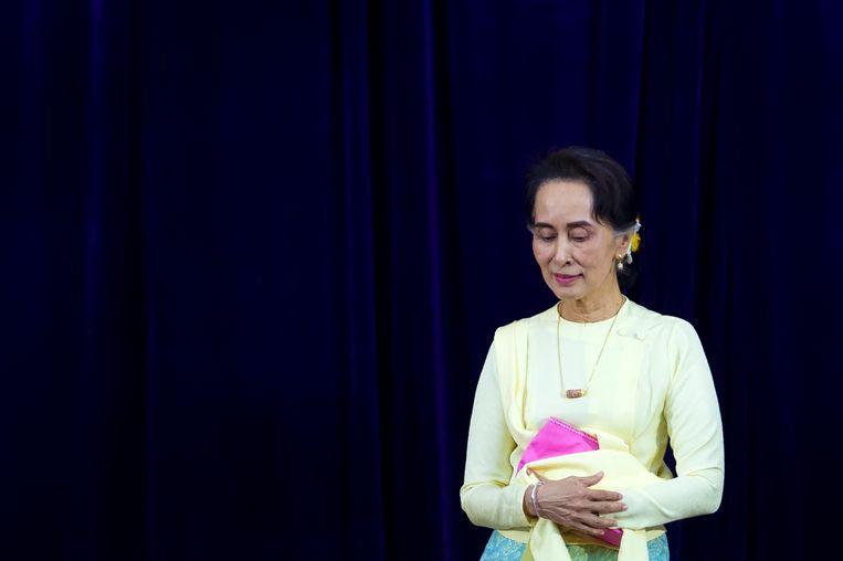 Aung San Suu Kyi. Beeld AFP