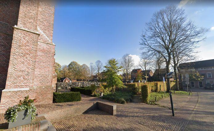 De begraafplaats in Diessen.