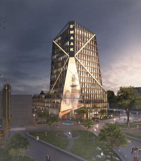 Wil je in een iconisch gebouw in Schiedam wonen? Dan moet je de portemonnee trekken