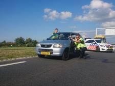 Gewonde bij aanrijding in Lelystad