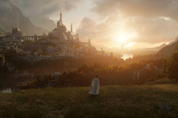 Een eerste blik op de nieuwe landschappen van 'Middle-earth'.