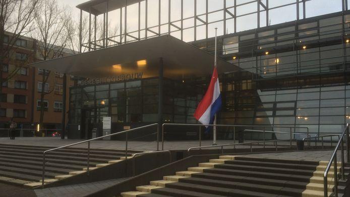 De Utrechtse rechtbank maandagochtend.