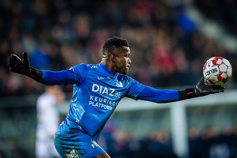 De Kameroener Fabrice Ondoa staat onder contract bij KV Oostende. Beeld Photo News