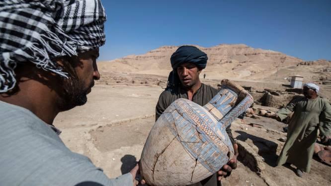 Deze onaangeroerde schatten hebben archeologen al ontdekt in 3.000 jaar oude verloren stad in Egypte