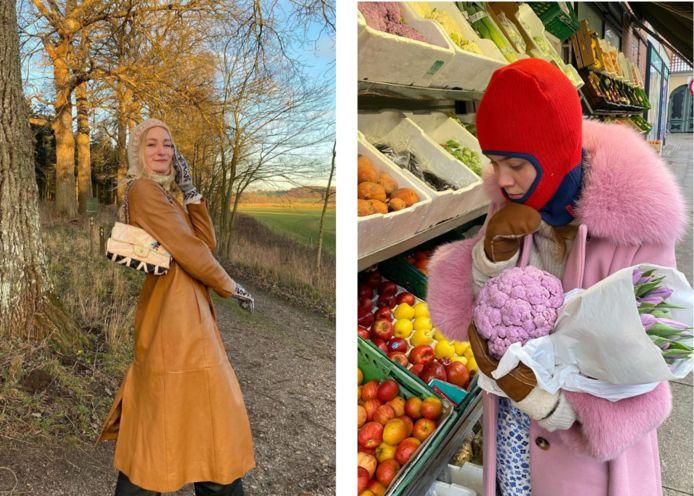 Instagram @astridandersenb (links), Instagram @lineamaria (rechts)