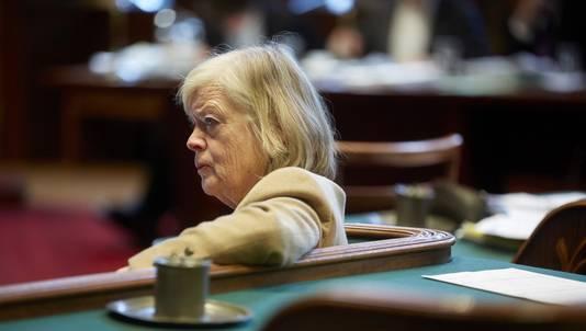 Senator Heleen Dupuis van de VVD in de Eerste Kamer