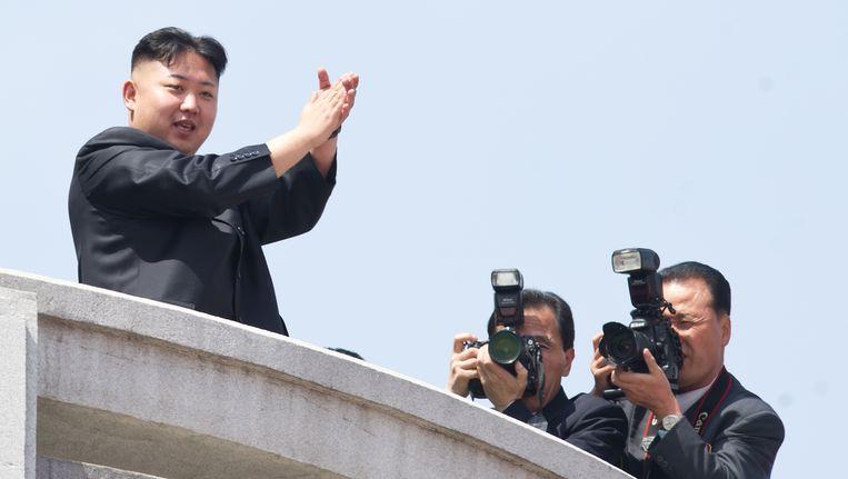 Kim Jong-Un Beeld AFP