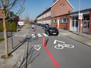 Eenrichtingsverkeer in de Schoolstraat in Geluwe tot de Tuinwijk.