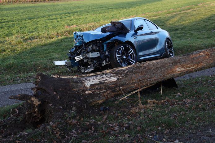 Auto-ongeluk in Zeeland.