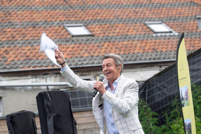 Willy Sommers treedt op voor bewoners assistentiewoning in Kontich