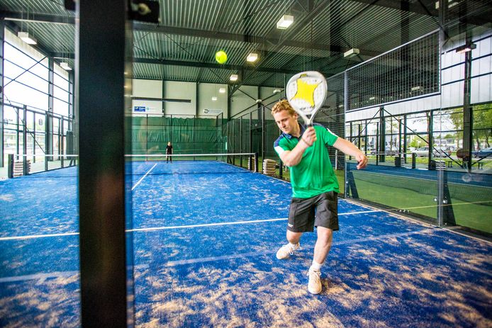 Padel is een combinatie van tennis en squash. Foto ter illustratie.