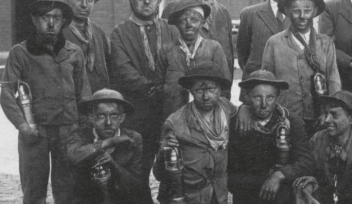 Brakelse mijnwerkers