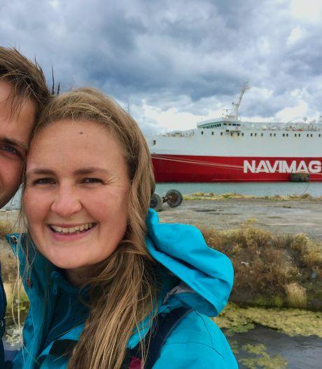 Annick (33) zag 1400 euro in rook opgaan tijdens een helse boottocht door Chili