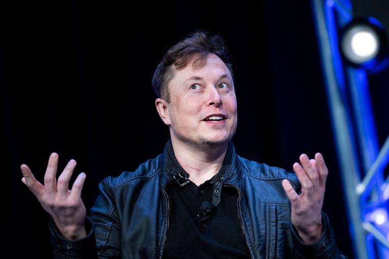 Elon Musk Beeld AFP