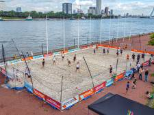 Zandkorrels, pirouettes en vliegertjes bij Handball on the Beach