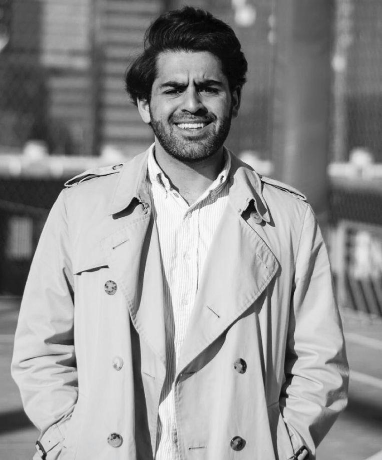 Armin Atabaki is cohost van de voetbalpodcast Bord op Schoot van FC Afkicken en student tandheelkunde. Beeld
