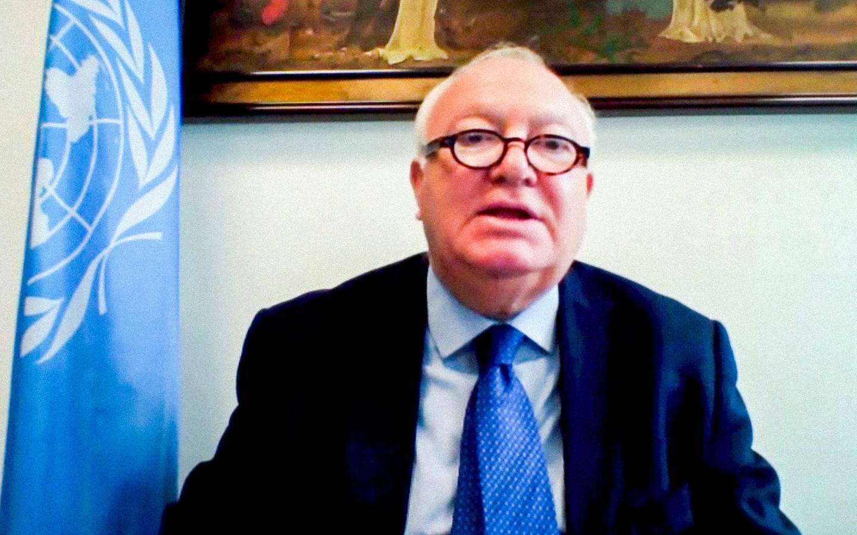Miguel Angel Moratinos, le Haut représentant pour l'Alliance des civilisations des Nations Unies