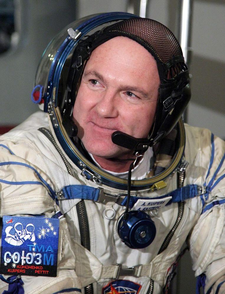 Dj/astronaut André Kuipers Beeld epa