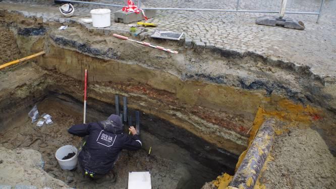 """""""Grote Markt was eerst een akker, pas vanaf 12de eeuw een druk kruispunt"""", zeggen archeologen"""
