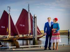 Koningspaar ziet zes Zeeuwse plaatsen in vijf uur