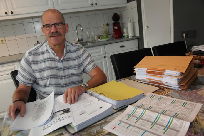 Kees van Winkelen uit Sint-Annaland deed eerder al onderzoek naar de subsidie waarmee de gemeenschapsmunt SamenDoen is opgezet.