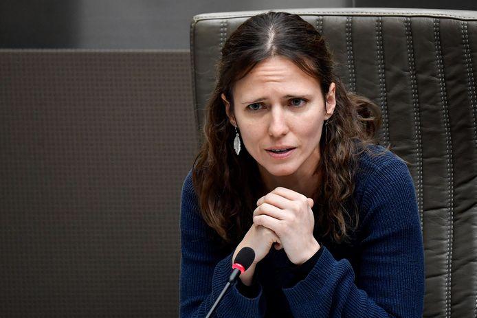 Vlaams parlementslid An Moerenhout (Groen).