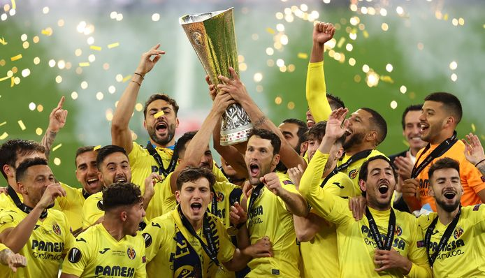 Villarreal viert feest.