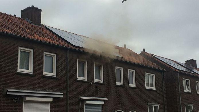 Brand Enschede woning