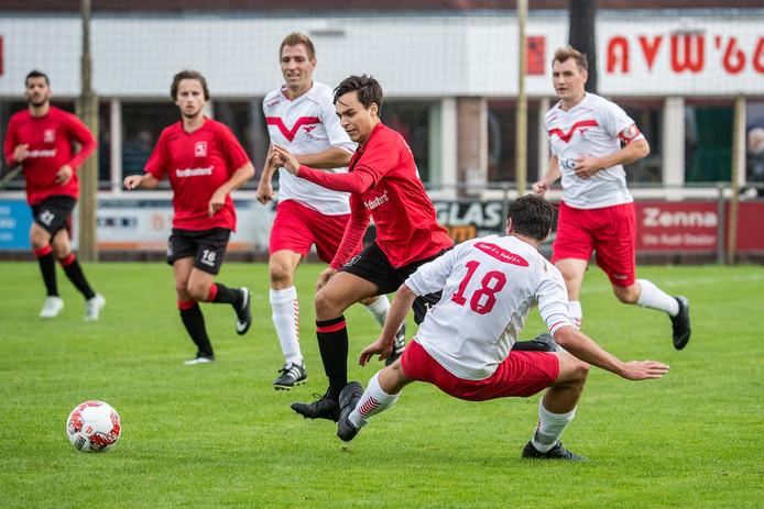 AVW'66 verloor zaterdagmiddag met 2-0 van FC Horst. Archieffoto Jan van den Brink