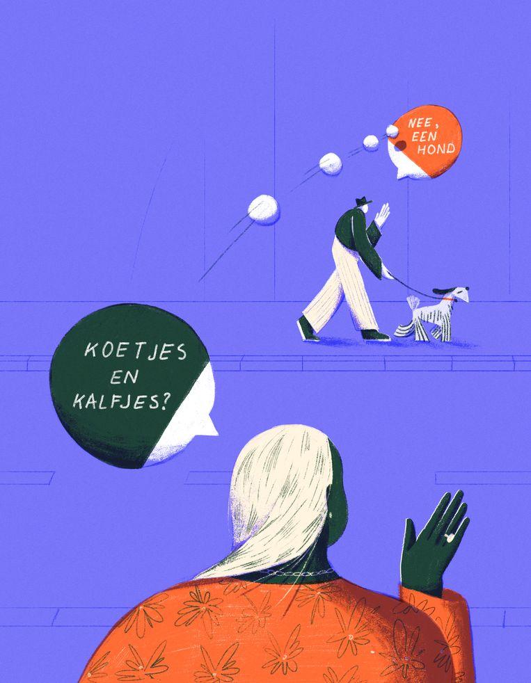 Smalltalk illustraties ZENO 8/5 Beeld Elise Vandeplancke