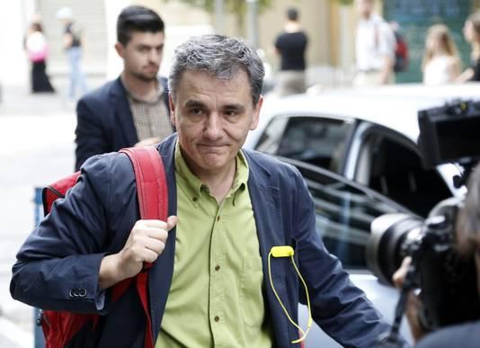 Euclid Tsakalotos, de huidige onderminister van Buitenlandse Zaken wordt mogelijk de nieuwe financiënminister.