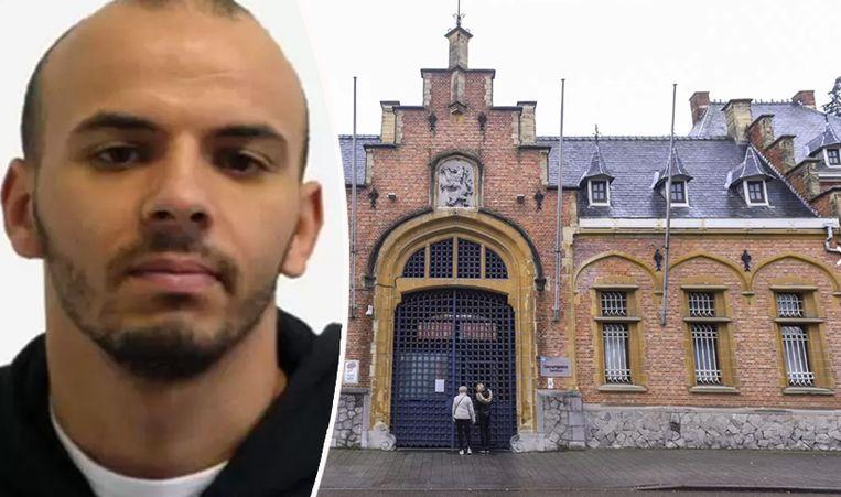 Oualid Sekkaki ontsnapte vorige maand uit de gevangenis van Turnhout. Beeld rv/Belga