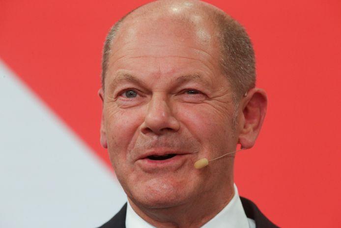 SPD - Sayangnya Olaf Schulz