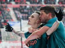 Hattrick basisdebutant Lang helpt Ajax na 2-0 achterstand langs FC Twente
