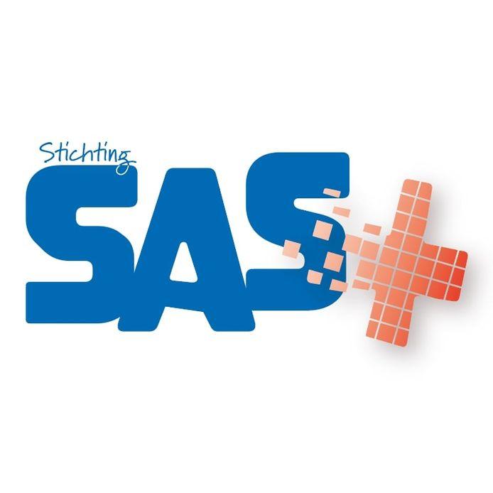 Logo nieuwe overkoepelende stichting Sas+