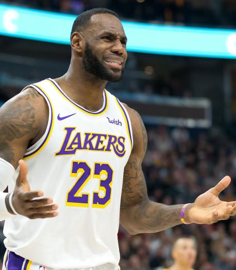 Les Lakers écrasent Utah, retour sur terre pour Miami