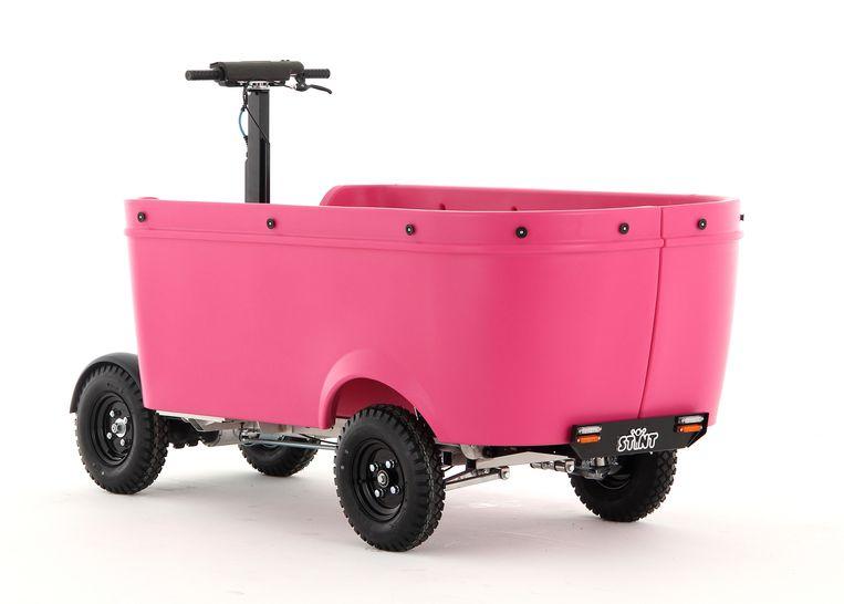 Een Stint kan tien kinderen vervoeren. Beeld