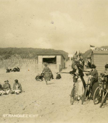 De állereerste toerist reisde in 1889 af naar Rockanje en ploeterde zich een weg over de duintop richting zee