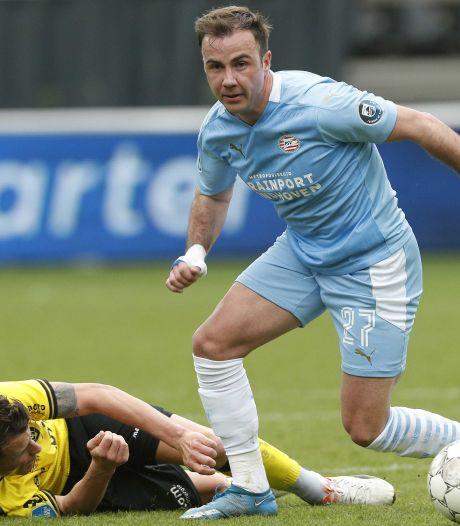 PSV hoopt dat Mario Götze er nog zeker een seizoen aan vastplakt in Eindhoven